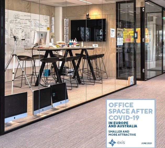 Post-Covid Office Spaces: Smaller and More Attractive